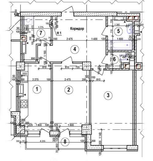10,11 и 12 этаж